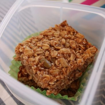 Honey & Oat Bars