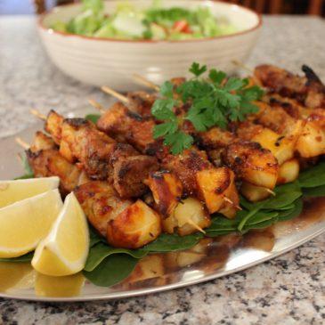 Smokey Paprika Kebabs