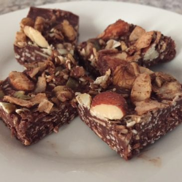 Muesli Topped Coconut Rough