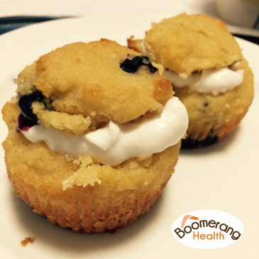 Grain Free Blueberry Muffins
